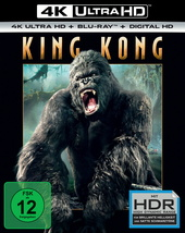 King Kong (4K Ultra HD + Blu-ray) Filmplakat