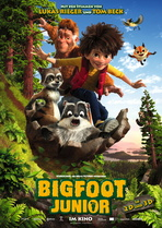 Bigfoot Junior - Filmplakat