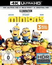 Minions (4K Ultra HD + Blu-ray) Filmplakat