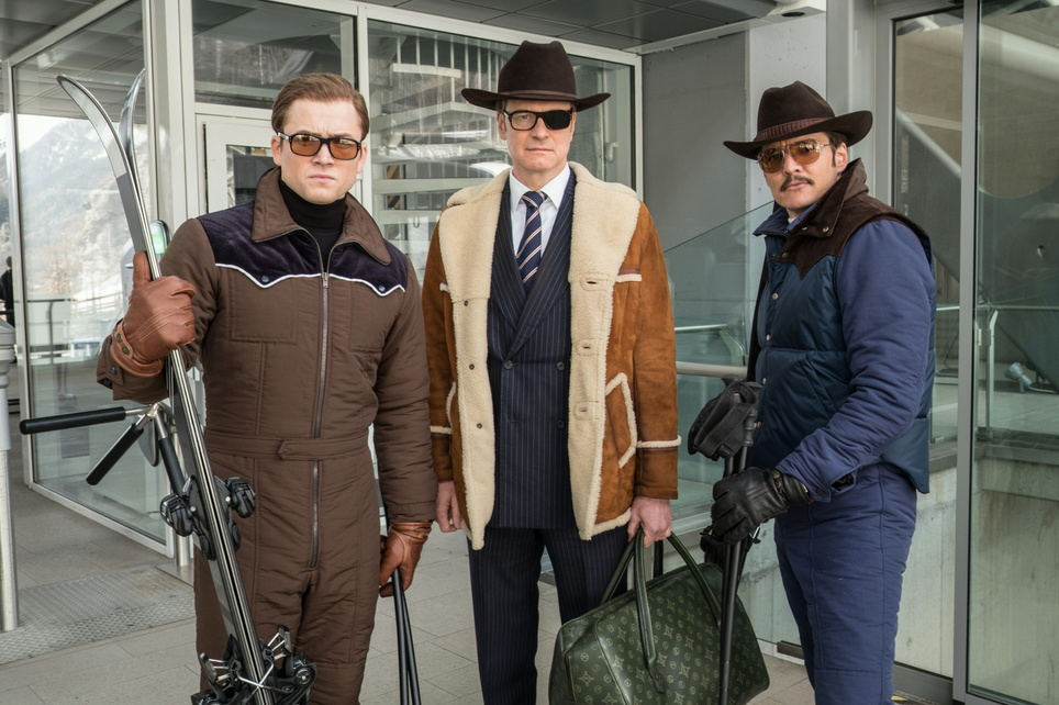 Kingsman: The Golden Circle Kinostart 21.09.2017, Großbritannien 2017, 3D