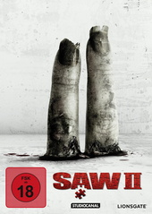 Saw II (White Edition) Filmplakat