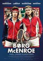 Borg/McEnroe - Duell zweier Gladiatoren - Filmplakat