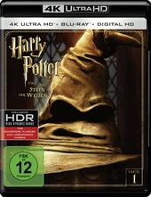 Harry Potter und der Stein der Weisen (4K Ultra HD + Blu-ray) Filmplakat