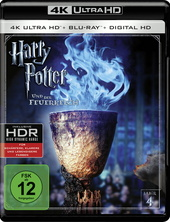 Harry Potter und der Feuerkelch (4K Ultra HD + Blu-ray) Filmplakat