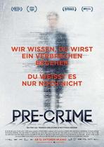 Pre-Crime - Filmplakat