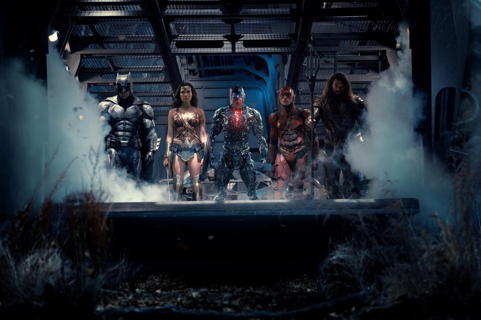 Justice League Kinostart 16.11.2017, USA 2017, 3D