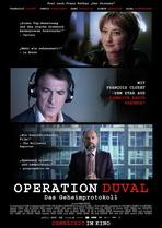 Operation Duval - Das Geheimprotokoll - Filmplakat