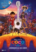 Coco - Lebendiger als das Leben! - Filmplakat