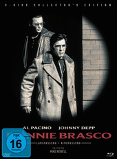 Donnie Brasco (Collector's Edition, 2 Discs + DVD) Filmplakat