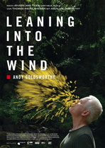 Leaning Into the Wind - Andy Goldsworthy - Filmplakat