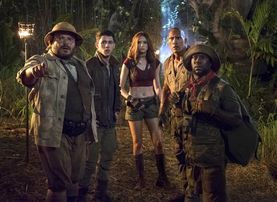 Jumanji: Willkommen im Dschungel Jumanji: Welcome to the Jungle, Kinostart 21.12.2017, USA 2017, 3D