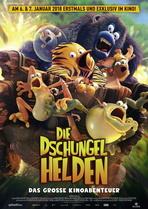 Die Dschungelhelden - Das große Kinoabenteuer - Filmplakat