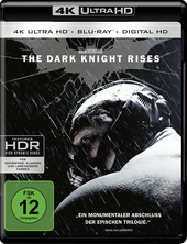 The Dark Knight Rises (4K Ultra HD + Blu-ray) Filmplakat
