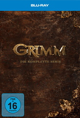 Grimm - Die komplette Serie (33 Discs) Filmplakat