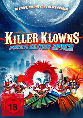 Killer Klowns from Outer Space (Mediabook + 2 DVDs) Filmplakat