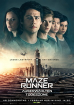 Maze Runner - Die Auserwählten in der Todeszone - Filmplakat