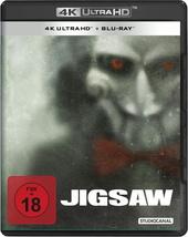 Jigsaw (4K Ultra HD + Blu-ray) Filmplakat