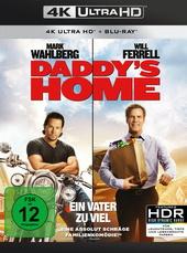 Daddy's Home - Ein Vater zu viel (4K Ultra HD + Blu-ray) Filmplakat
