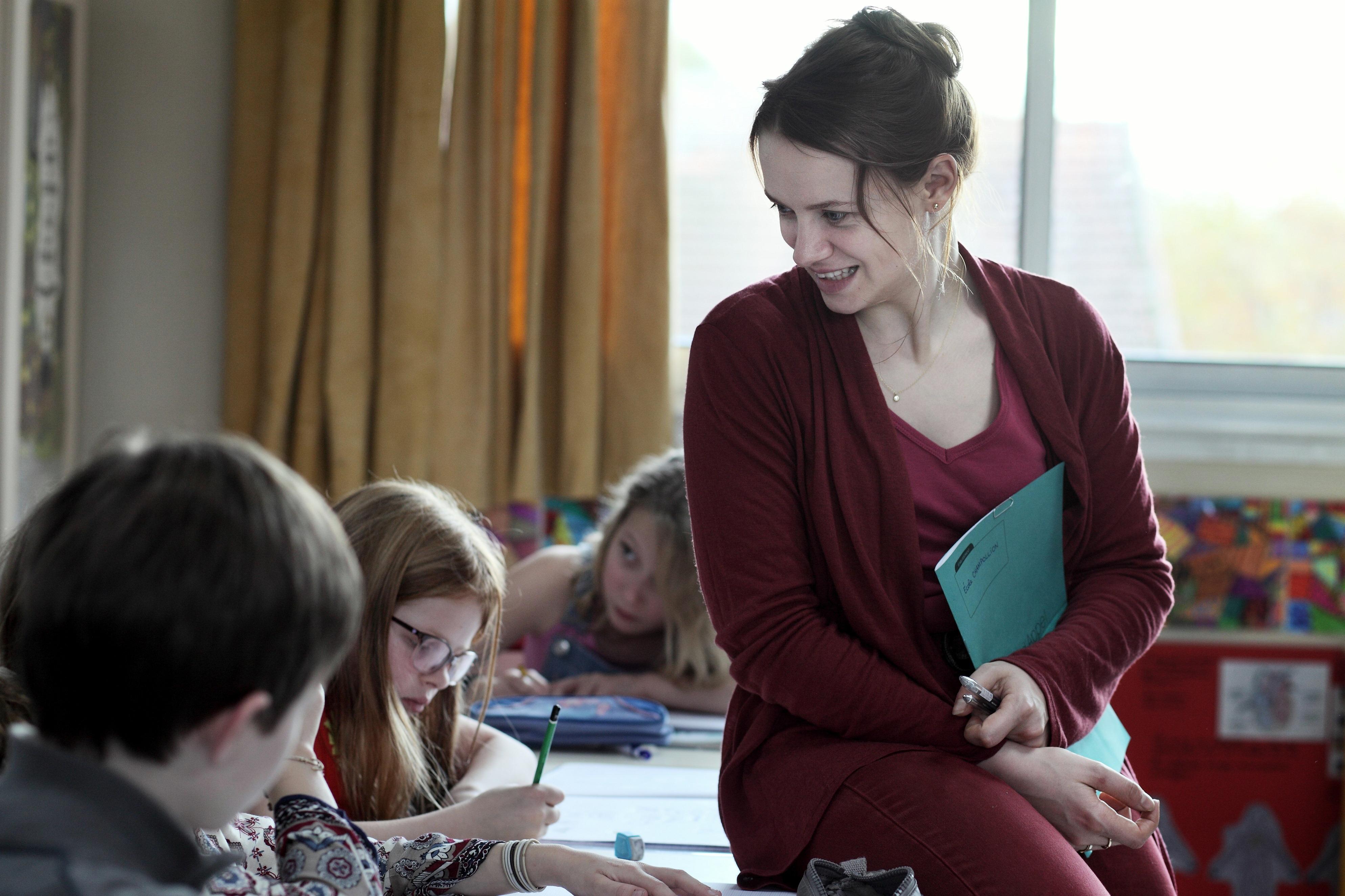Die Grundschullehrerin