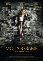 Molly's Game - Alles auf eine Karte - Filmplakat