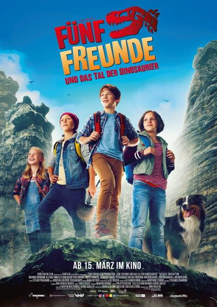 Fünf Freunde und das Tal der Dinosaurier Plakat/Film Bild-2