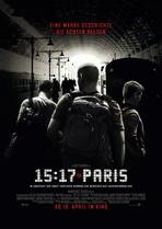 15:17 to Paris - Filmplakat
