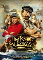 Jim Knopf & Lukas der Lokomotivführer - Filmplakat