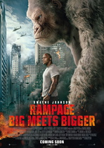 Rampage - Big Meets Bigger - Filmplakat