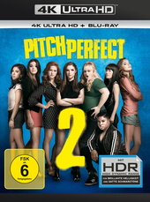 Pitch Perfect 2 (4K Ultra HD + Blu-ray) Filmplakat