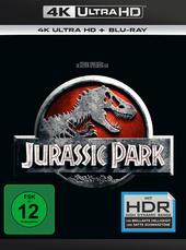 Jurassic Park (4K Ultra HD + Blu-ray) Filmplakat