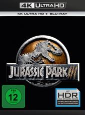 Jurassic Park III (4K Ultra HD + Blu-ray) Filmplakat