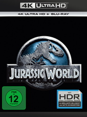 Jurassic World (4K Ultra HD + Blu-ray) Filmplakat