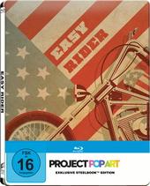 Easy Rider (SteelBook, Project PopArt, Exklusivprodukt) Filmplakat