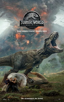 Jurassic World: Das gefallene Königreich - Filmplakat