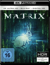 Matrix (4K Ultra HD + Blu-ray) Filmplakat