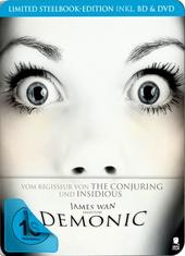 Demonic - Haus des Horrors (+ DVD, Limited Steelbook Edition) Filmplakat