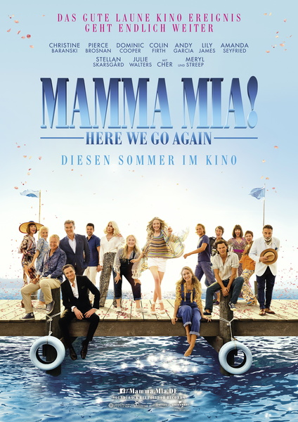 Mamma Mia! Here We Go Again Plakat/Film Bild-3