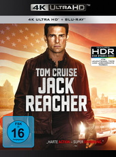 Jack Reacher (4K Ultra HD + Blu-ray) Filmplakat