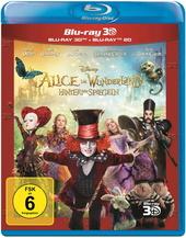Alice im Wunderland: Hinter den Spiegeln (Blu-ray 3D + Blu-ray) Filmplakat