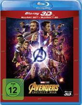 Avengers: Infinity War (Blu-ray 3D + Blu-ray) Filmplakat
