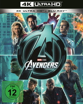 Marvel's The Avengers (4K Ultra HD + Blu-ray) Filmplakat