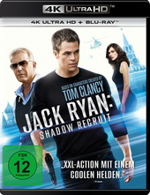 Jack Ryan: Shadow Recruit (4K Ultra HD + Blu-ray) Filmplakat