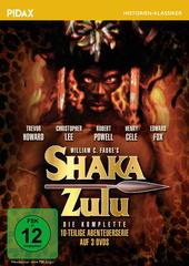 Shaka Zulu - Die komplette Abenteuerserie (3 Discs) Filmplakat