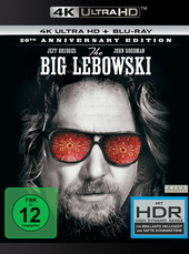 The Big Lebowski (4K Ultra HD + Blu-ray) Filmplakat