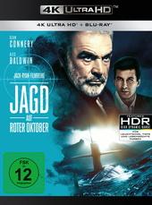 Jagd auf Roter Oktober (4K Ultra HD + Blu-ray) Filmplakat
