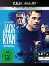 Jack Ryan: Shadow Recruit (4K Ultra HD + Blu-ray) Filmplakat