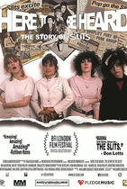 Here to Be Heard: The Story of the Slits - Filmplakat