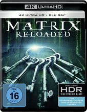 Matrix Reloaded (4K Ultra HD + Blu-ray, 3 Discs) Filmplakat