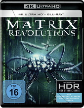 Matrix Revolutions (4K Ultra HD + Blu-ray, 3 Discs) Filmplakat