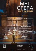 Aida - Verdi (live MET 2018) - Filmplakat